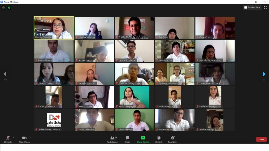 Ecuador: Juramento virtual de la Bandera