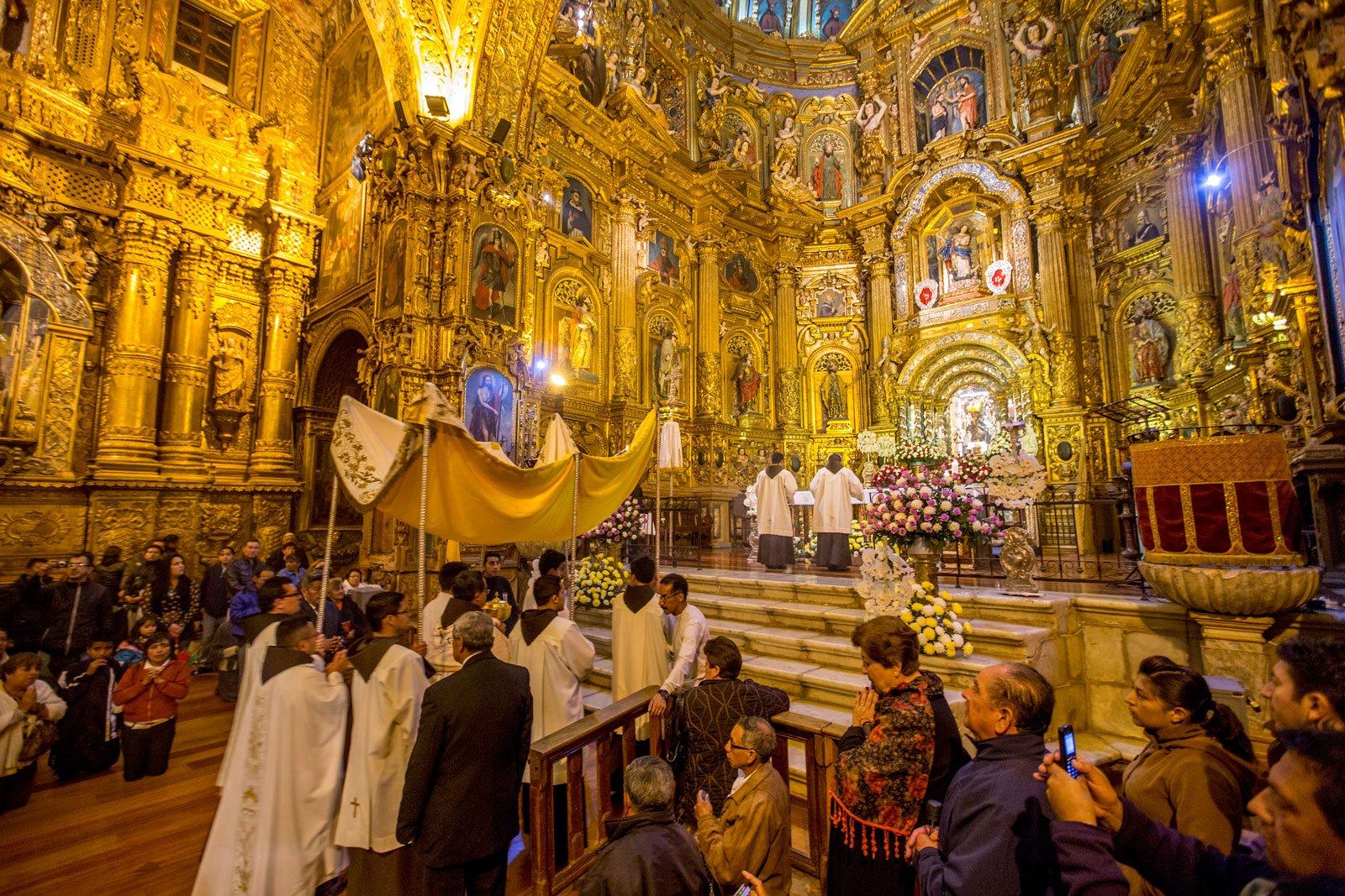 Cronograma de Actividades Virtuales de Semana Santa en Quito